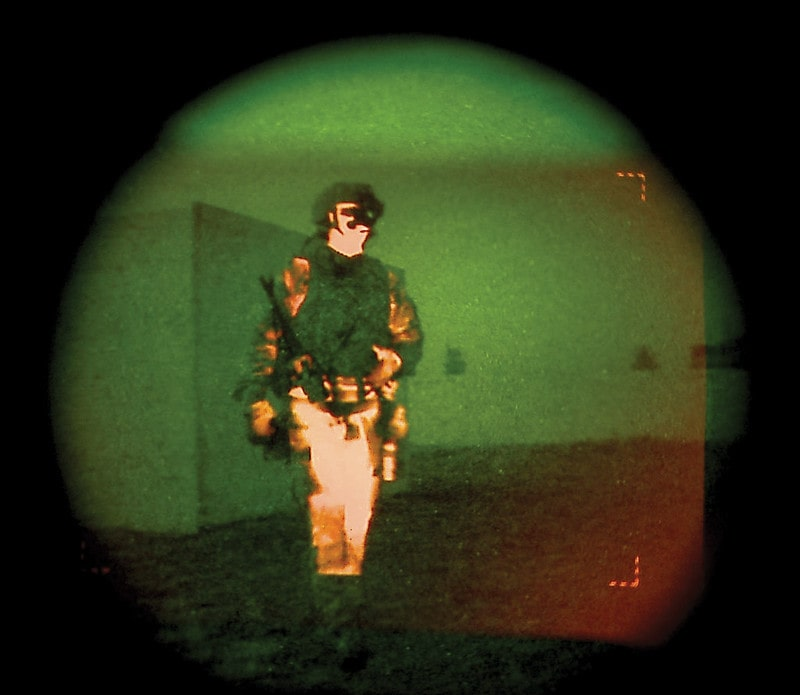 How do night vision devices work
